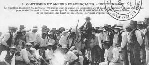 Un peu d'histoire du Pèlerinage, du Marquis Folco de Baroncelli et des Gitans.