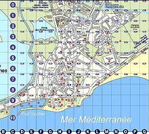 Carte de la camargue cartes et plan des saintes maries de la mer cartes touristiques - Office de tourisme ste marie de la mer ...