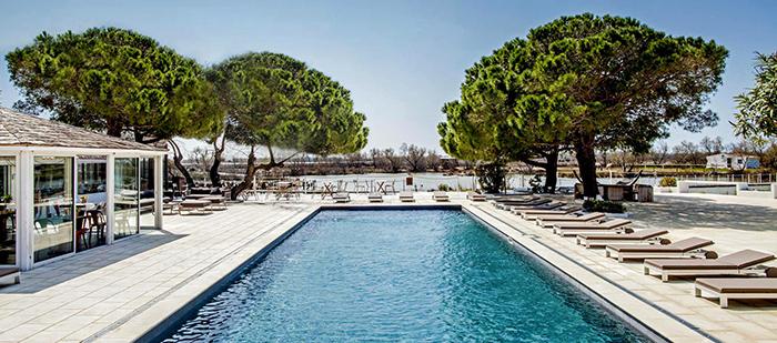 hôtel de luxe camargue